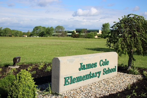 James Cole Elementary Sign